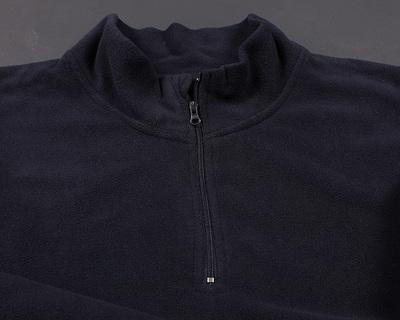 Giá trị-cho-tiền nửa dây kéo mềm fleece jacket đứng cổ áo nam giới và phụ nữ thể thao và giải trí da lộn áo thun áo len Áo len