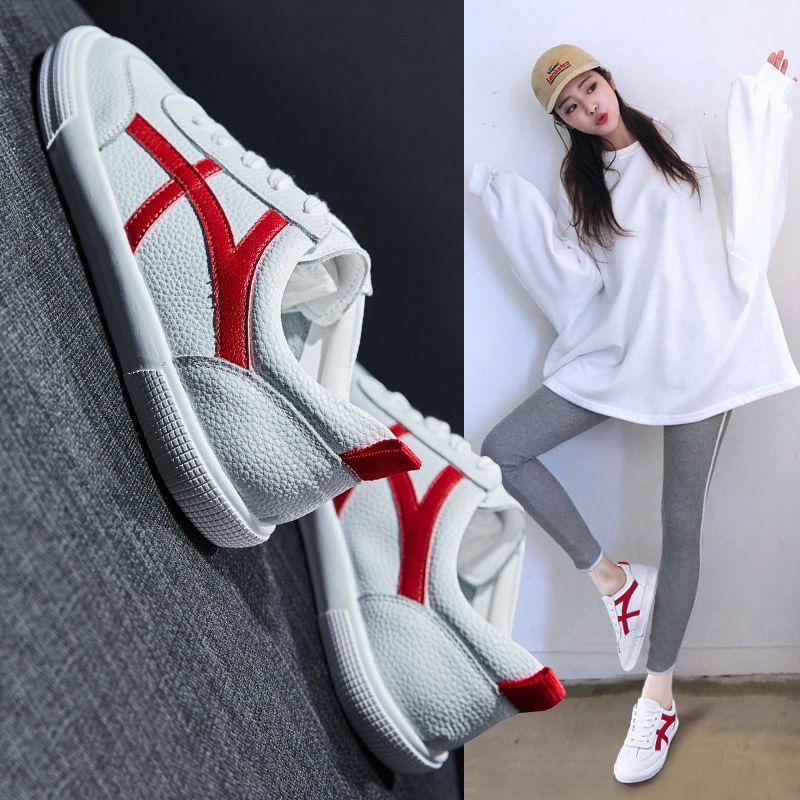 小白鞋女鞋2020新款潮春季鞋子女学生韩版百搭运动休闲ins板鞋女