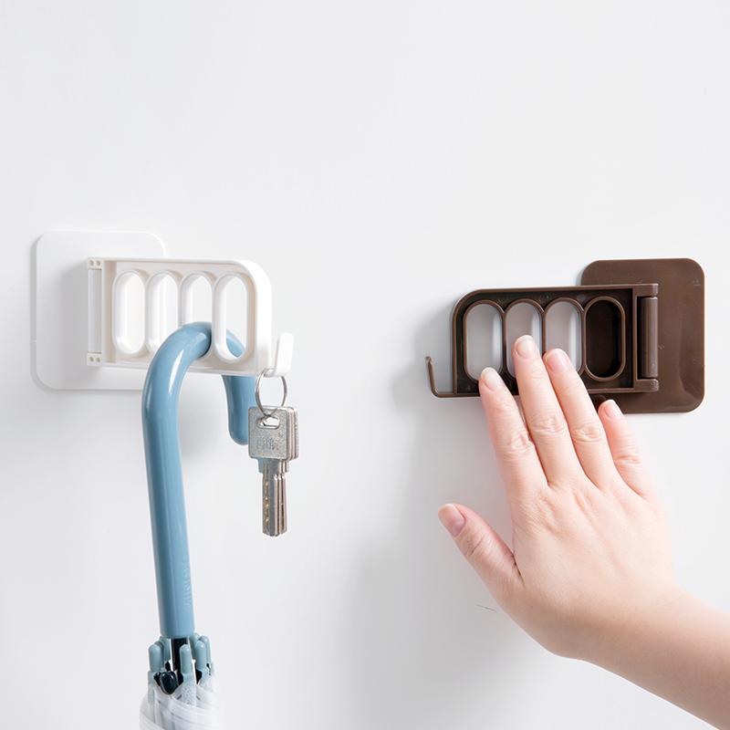 强力粘胶挂衣架卫生间墙上粘钩 浴室免钉墙壁门后挂钩家用挂衣架