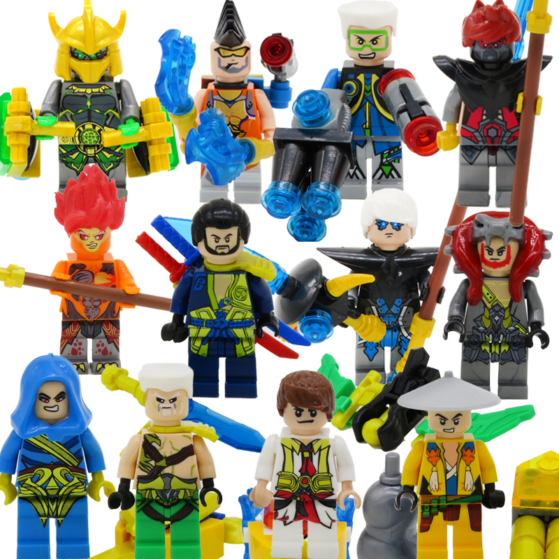 Compatible with LEGO King Hero Building Blocks Humanoid Hot Hand ...