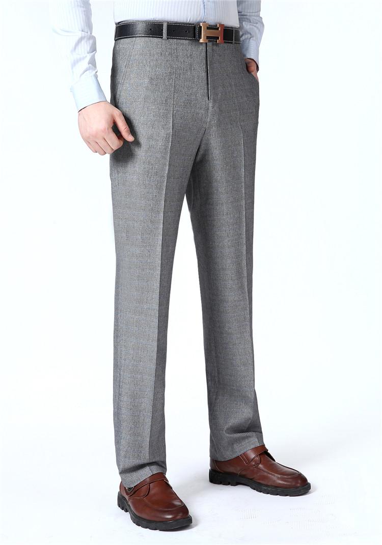 Playboy quần người đàn ông đích thực của kinh doanh thẳng lỏng dễ dàng để chống nhăn người đàn ông của mùa hè phần mỏng phù hợp với quần Suit phù hợp
