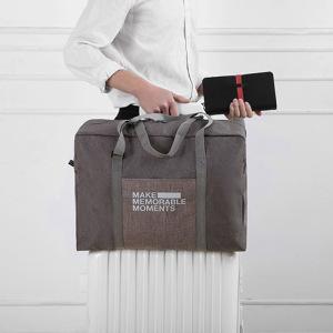 Du lịch Tote Bag Đơn Giản Xách Tay Ráp Túi Lưu Trữ Công Suất Lớn Xe Đẩy Hành Lý Hộp Nam Giới và phụ nữ Nội Trú Túi