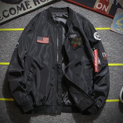 Của nam giới áo khoác mùa xuân 2018 mới của Hàn Quốc thường đồng phục bóng chày pilot áo khoác nam bảo vệ chống nắng quần áo nam quần áo Đồng phục bóng chày