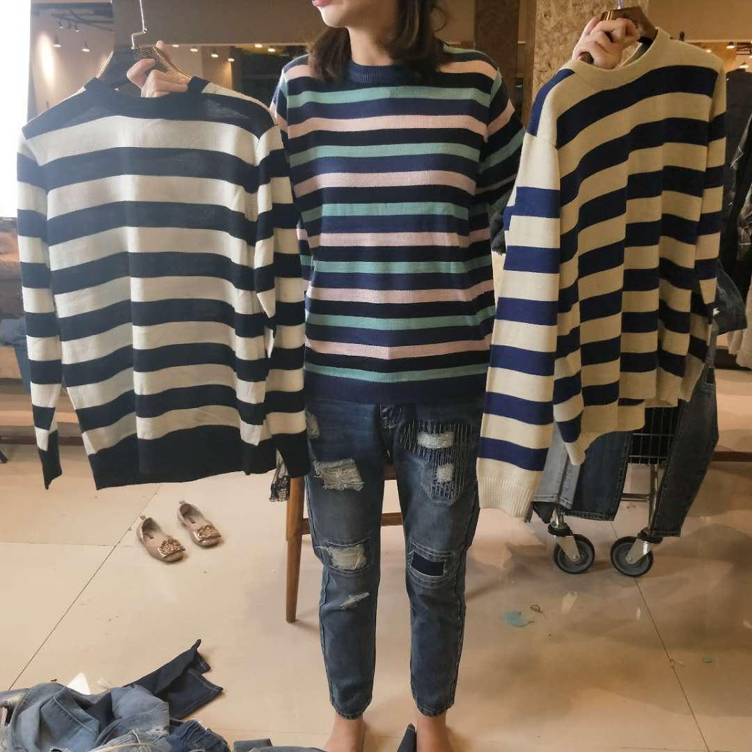 Giang Nam Plains Quảng trường 2018 mùa thu đan áo len YQ007