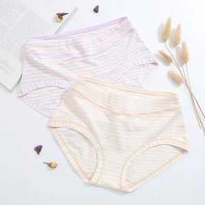 2018 mới đơn giản sọc mềm breathable đồ lót của phụ nữ trong eo bụng gói hip cô gái tóm tắt quần short 844