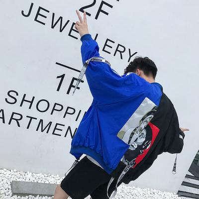 Mùa thu chàng trai mới cá tính đường phố gió chú hề áo khoác Hàn Quốc phiên bản của xu hướng hoang dã thanh niên đồng phục bóng chày nam Đồng phục bóng chày