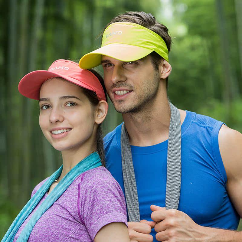 Đỉnh núi rỗng top chạy hat thể thao ngoài trời sun visor mùa hè marathon siêu nhẹ mũ ngực trần khô