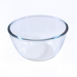 玻璃碗家用耐热盆沙拉碗泡面碗透明加热微波炉烤箱专用和面盆大号