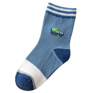 10双【纯棉-加厚】儿童中筒长袜
