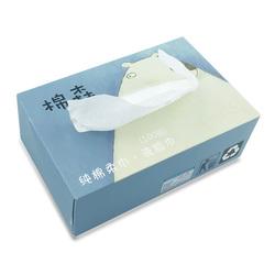 棉森盒装正品擦脸巾一次性洗脸巾抽取式纯棉洁面巾美容专用巾成人