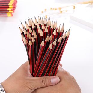 儿童原木hb铅笔文具50支套装