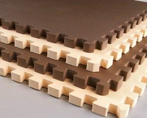 Trẻ em của gỗ hạt toddler an toàn chịu mài mòn đệm nhựa đệm phòng tập thể dục thảm sàn phòng mat bò mat