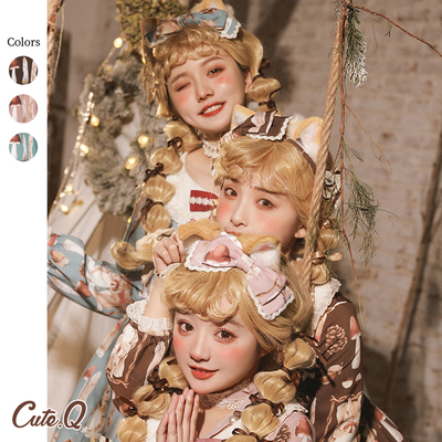 taobao agent 【Spot goods】Little Squirrel Story KC Side Clip Small Object Collection CuteQ Original Lolita Accessories