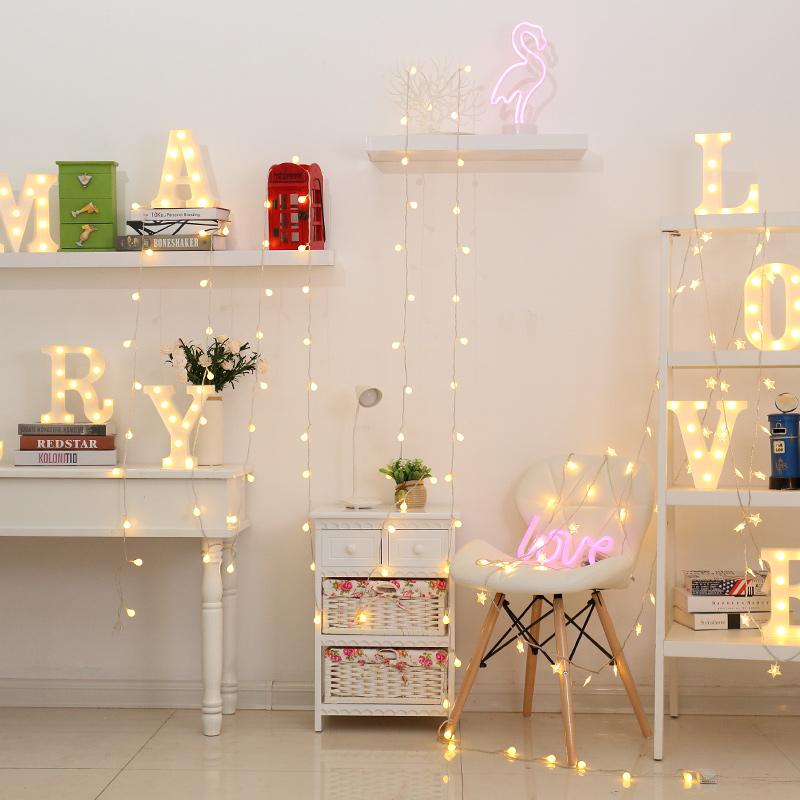 LED小彩灯闪灯串灯满天星网红房间装饰星星户外亮化工程防水灯串