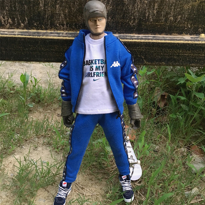 taobao agent ht soldier fashion doll bjd blythe sports suit jacket+trousers two colors optional