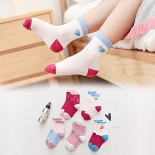 中筒袜儿童袜子纯棉全棉