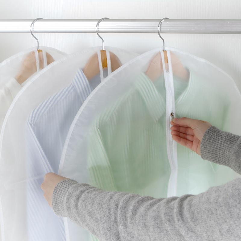 防尘袋衣罩家用衣服防尘罩挂式大衣挂衣袋透明防尘套西装西服套子