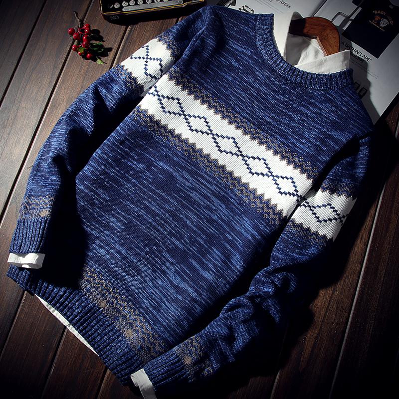 Đặc biệt hàng ngày mùa xuân và mùa thu sinh viên áo len nam đầu khâu vài áo len Hàn Quốc phiên bản của tự trồng áo len nam áo khoác ngoài