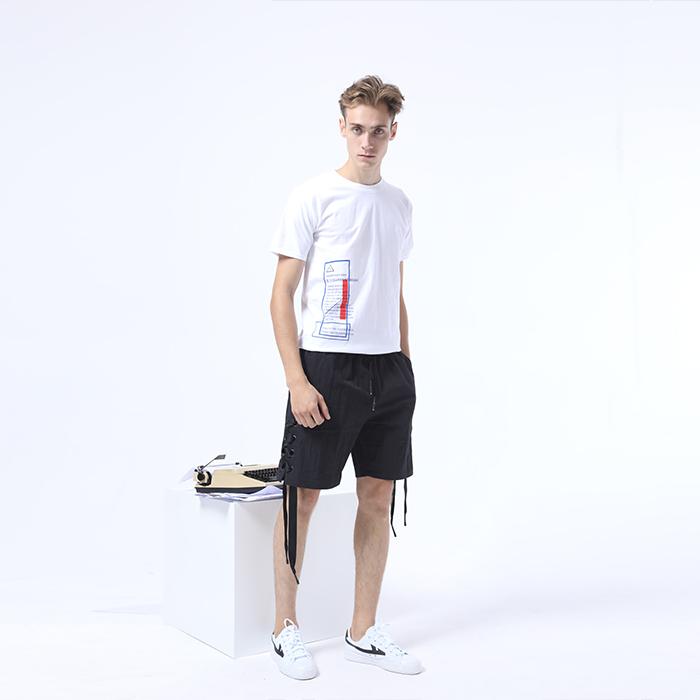【三折】普洗印花复古国潮趣味文字t恤-HIGHASH原创设计