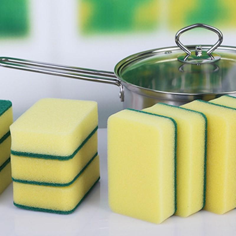 第2件1元】洗碗海绵擦锅清洁刷锅刷碗洗碗海绵厨房抹布不易沾油