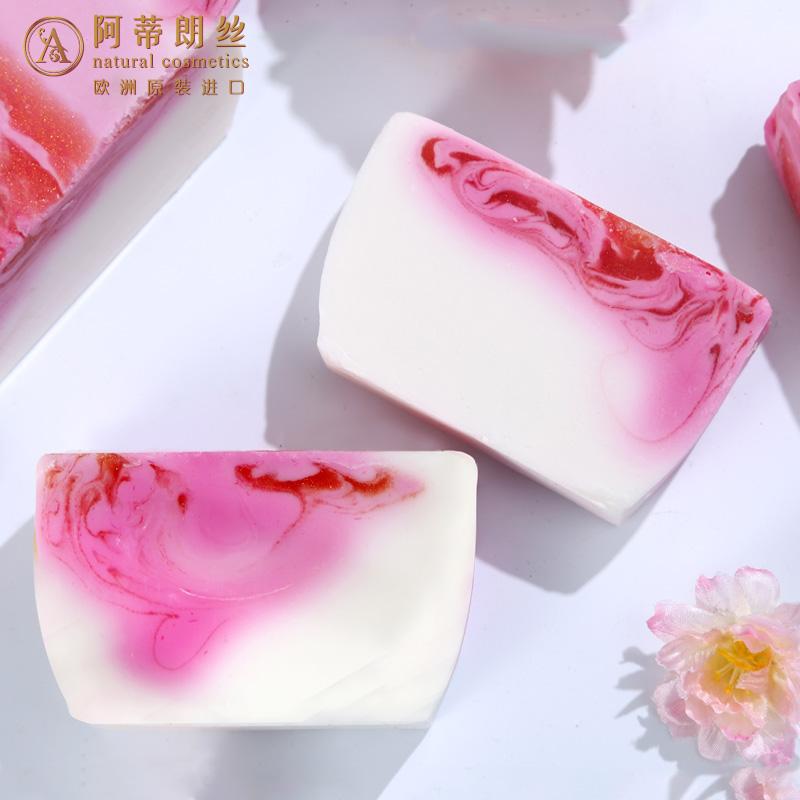 Attilance Nhập Khẩu Cherry Blossom Khiêu Vũ Tinh Dầu Tự Nhiên Hương Liệu Lạnh Xà Phòng Rửa Mặt Xà Phòng 100 gam Cơ Thể Mới