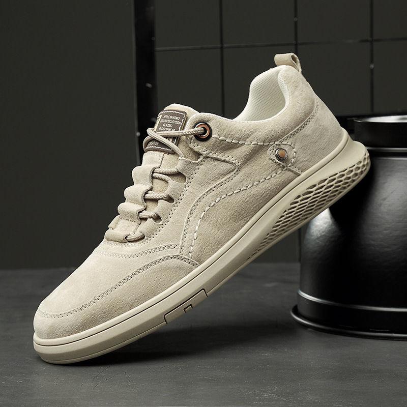 新款男鞋软底防滑耐磨男士休闲板鞋