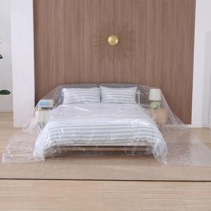 塑料防塵布遮蓋沙發罩家具保護膜床頭蓋巾家用客廳防水遮灰遮塵布