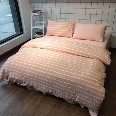 正品尾货清仓水洗棉四件套床品四件套床单被套学生宿舍柔软舒适