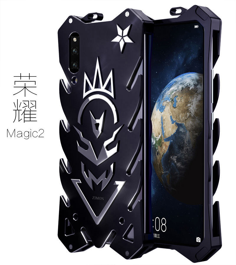 SIMON New THOR II Aviation Aluminum Alloy Shockproof Armor Metal Case Cover for Huawei Honor Magic 2