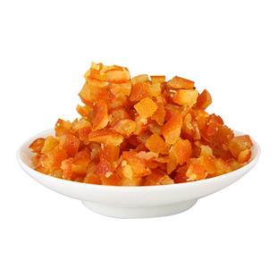 糖渍橙皮丁烘焙原料1kg陈皮干粒碎