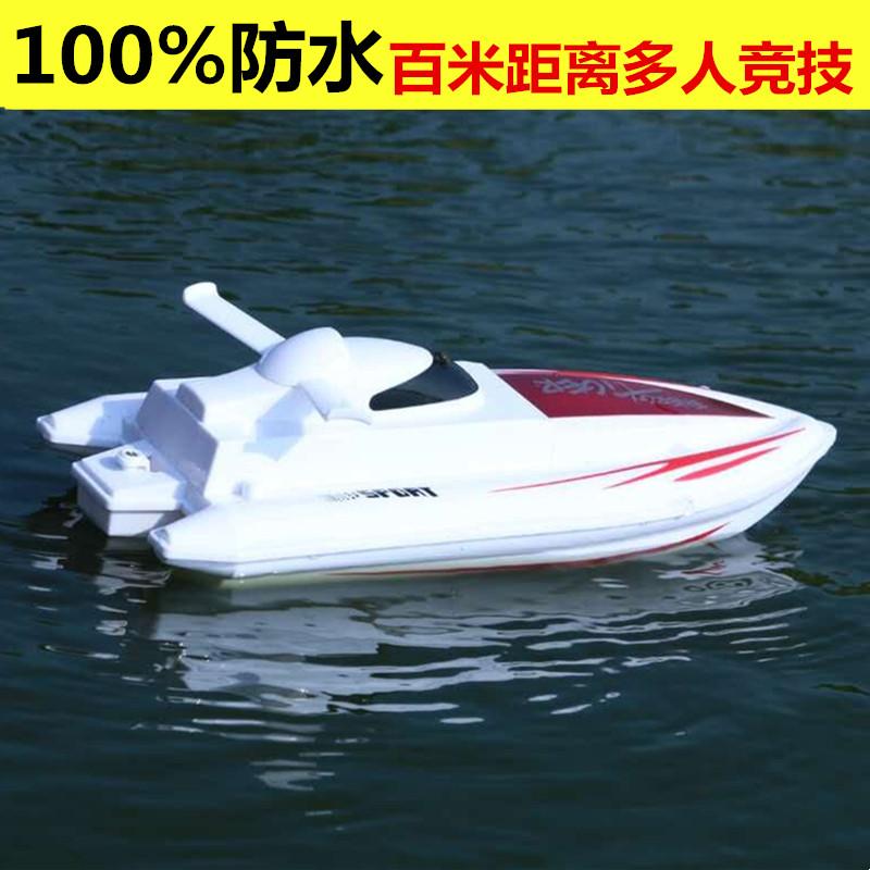 Điều khiển từ xa thuyền quá khổ điều khiển từ xa thuyền tốc độ thuyền tốc độ cao người lớn quá khổ điện không dây cậu bé nước trẻ em của thuyền đồ chơi
