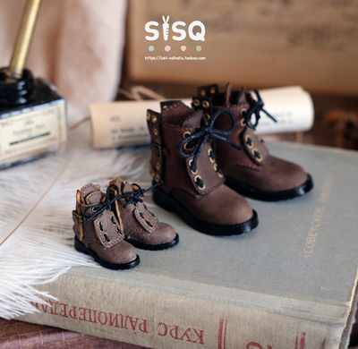 taobao agent Cigaronne OB11 leather boots and small shoes 12 points Nendoroid GSC DOLL PICCODO Molly