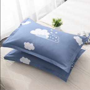 枕头芯一对带枕套套装婚庆家用酒店学生