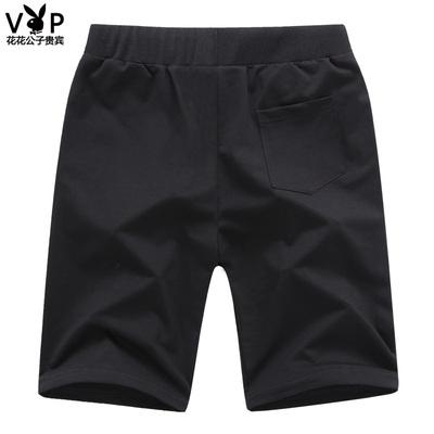 Playboy quần short nam giản dị năm quần mùa hè lỏng quần bó sát quần bãi biển quần mùa hè quần lớn