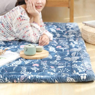 韩式毛绒田园地垫家用满铺爬行榻榻米加厚地毯卧室床边可机洗水洗