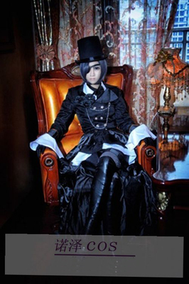 taobao agent Cosplay costume【Black butler cosplay】 Master Charles Chapter 21 Clothes