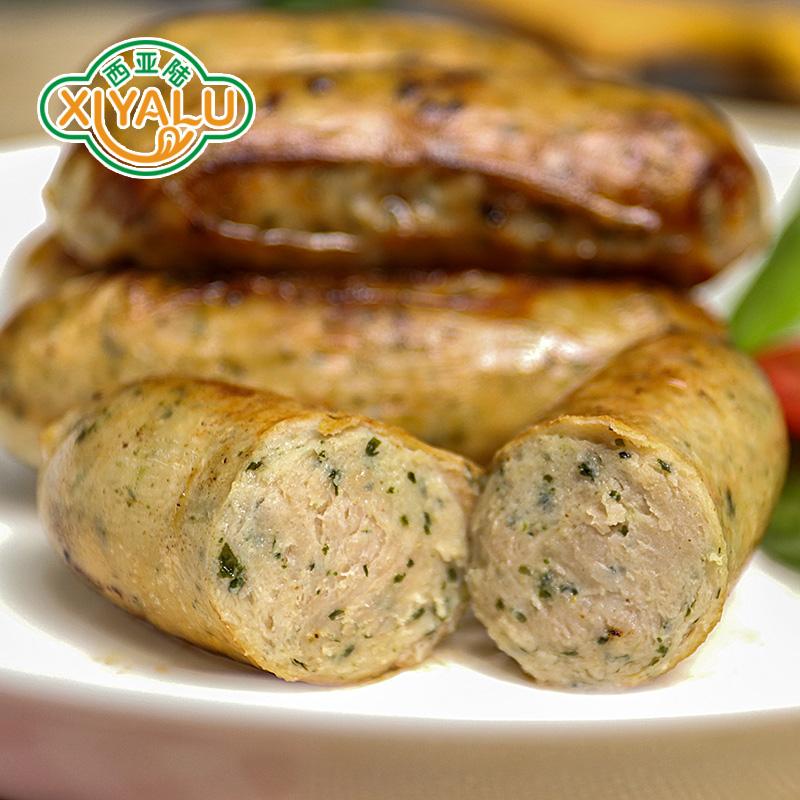 【荷美尔特惠装-德式香葱油煎肠1kg】西式早餐香葱风味香肠烤肠