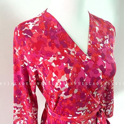 Sản phẩm mới mùa hè in màu đỏ du lịch ngắn cắt tay áo bọc váy shop váy đẹp Sản phẩm HOT