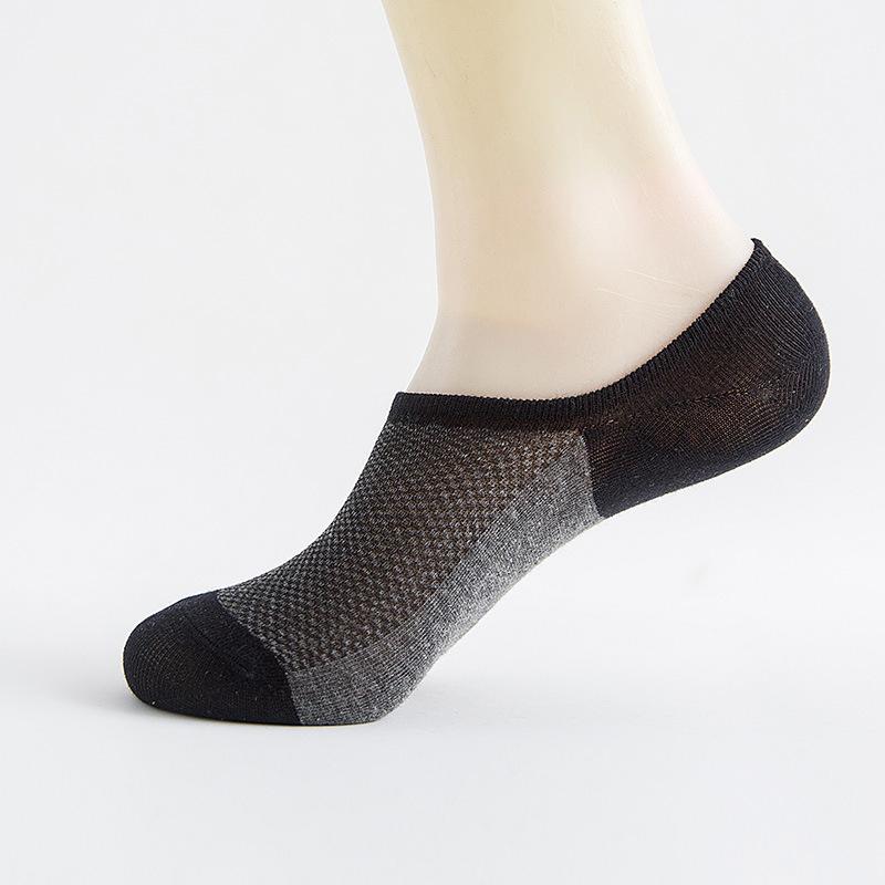 袜子男短袜四季男士短筒棉袜防臭吸汗网袜中筒袜夏季低帮潮男船袜