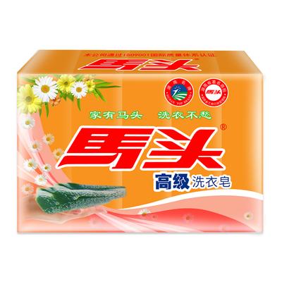 马头肥皂160g(5合1)洗衣皂