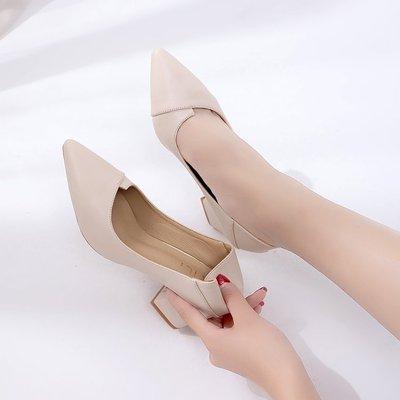 2019夏季女士高跟單鞋