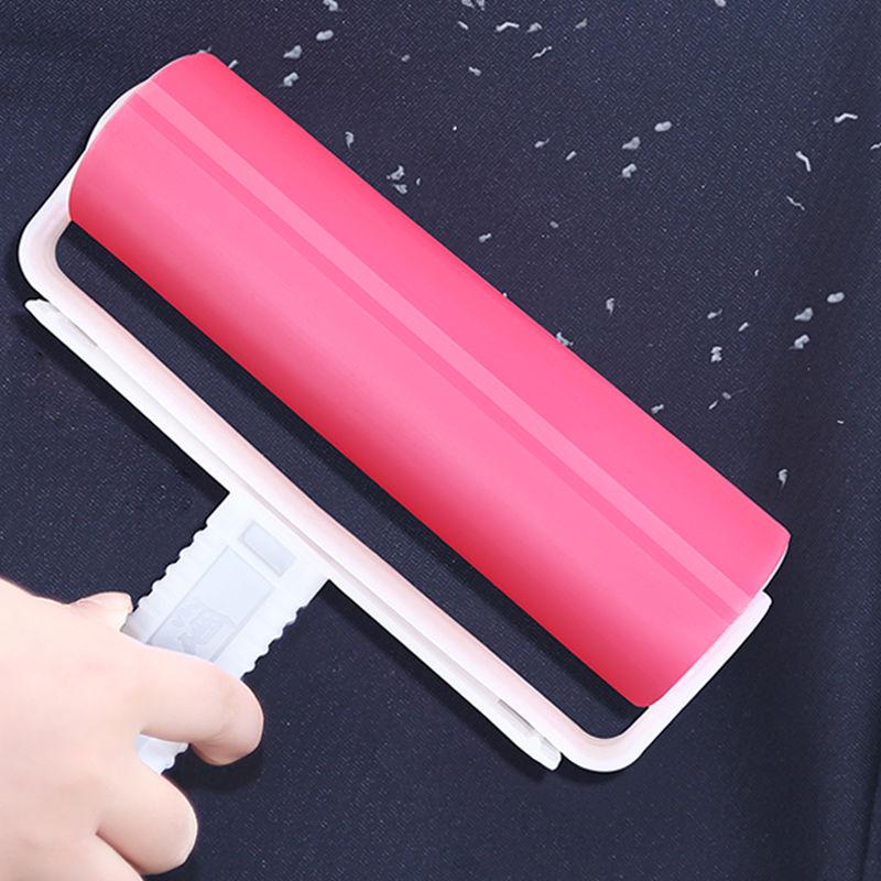 大号滚刷粘毛器滚筒可水洗沾毛神器去毛刷衣服衣物宠物家用除毛器
