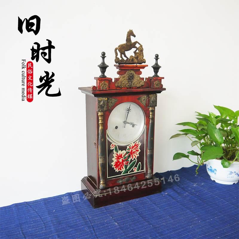Cộng hòa của Trung Quốc đồng hồ cũ dân gian tùy chỉnh các đối tượng cũ hoài cổ bộ sưu tập đồng hồ cũ gỗ đồng hồ treo tường đạo cụ trang trí cổ linh tinh đồ trang trí