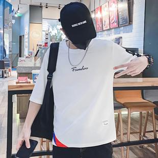 夏季男士短袖T恤男潮流七分袖