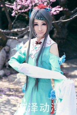 taobao agent 【vocaloidchina】March Rain   Luo Tianyi Tsing Yi Costume Edition   COSPLAY Special Spot