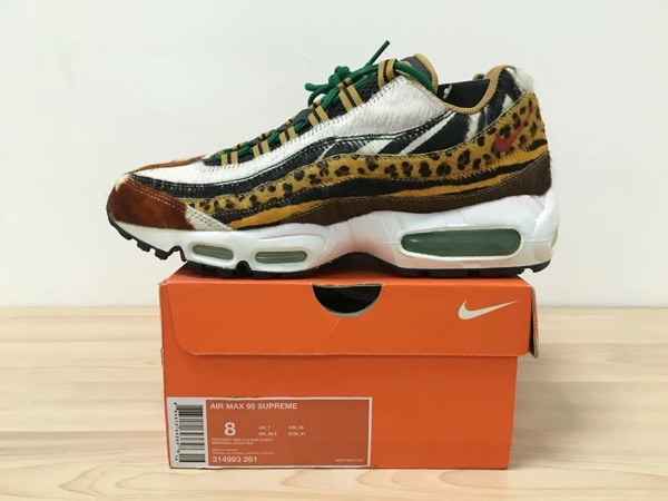 1efb5909612c Nike x Atmos Air Max 95 Supreme Animal Pack 314993-261-淘宝网