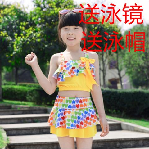 Trẻ em mới của đồ bơi cô gái Hàn Quốc phiên bản của một mảnh váy loại cậu bé lớn đồ bơi công chúa sinh viên cô gái Hàn Quốc đồ bơi