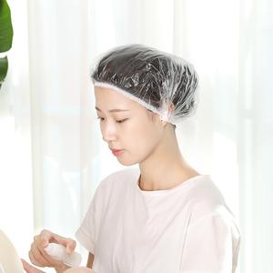日本一次性浴帽女防水家用洗澡加厚帽子发膜护理专用焗油染发头套