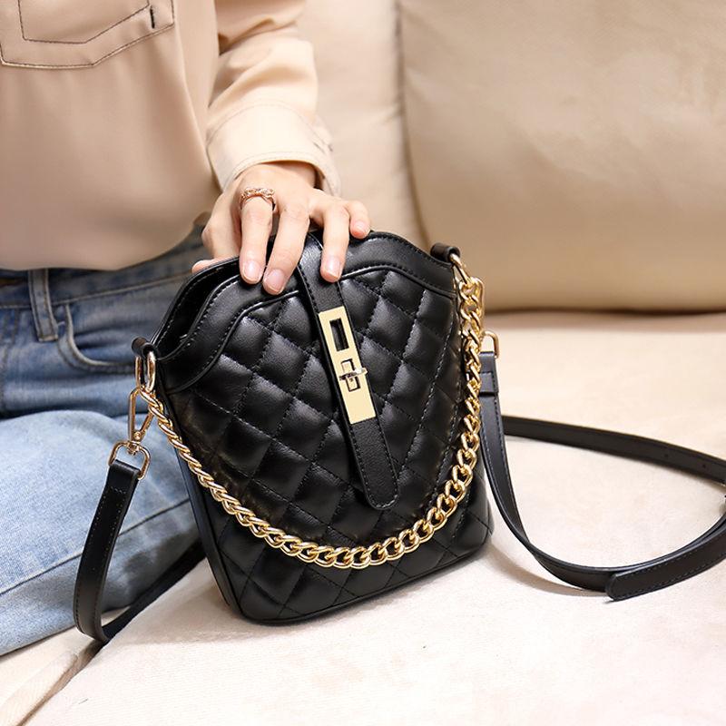 小包包女菱格女包链条手提包单肩包女斜挎包