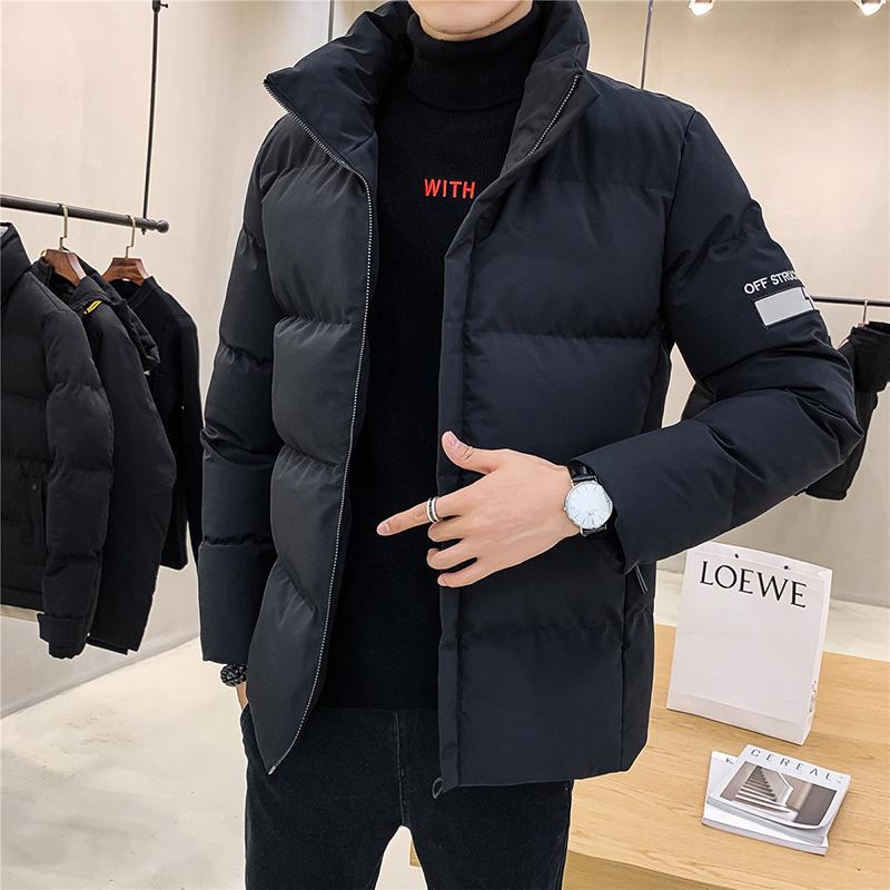 棉衣男士外套2019新款冬季衣服韩版潮流面包棉服冬天男装加厚